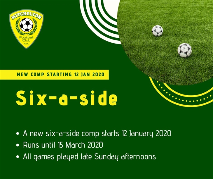 Sunday six-a-side
